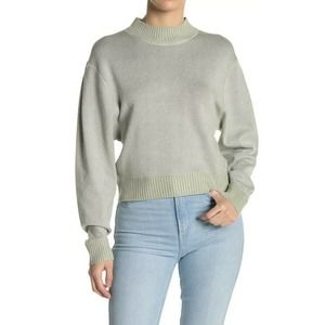 Free People Starry Night Sweater Frosted Fern G